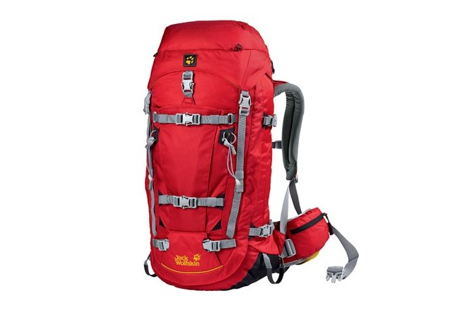 Sac à dos Jack Wolfskin Mountaineer 42 F Rouge