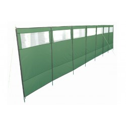 Hedge Green 8 Poles Windscreen Khyam