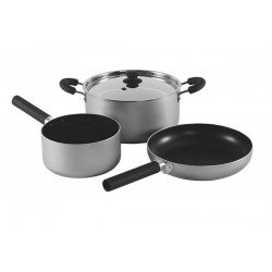 Cuisine Cook Set Grey L Outwell