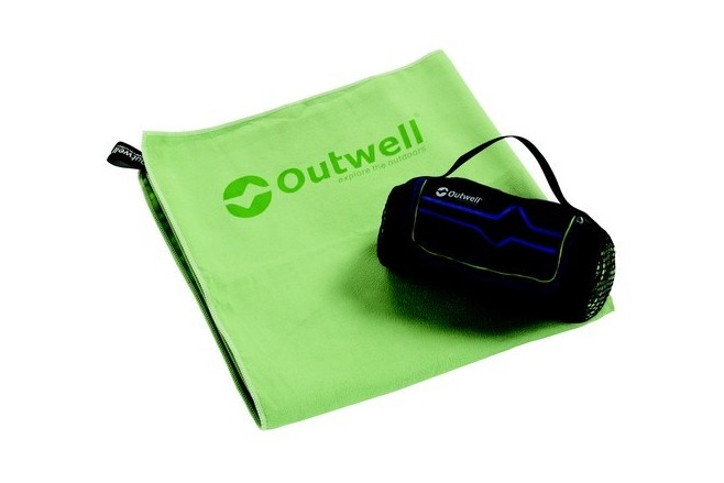 Micro Pack Towel L Verte Outwell