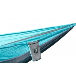 Pack TTTM Hammock Single Dark Grey / Turquoise