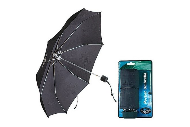 Sea To Summit Parapluie de poche Noir