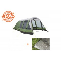 Pack Tente + Tapis Outwell Woodburg 6A