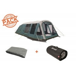 Pack tente + tapis Knightdale 7PA Outwell