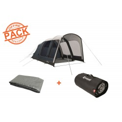 Pack tente + tapis Rock Lake 3ATC Outwell