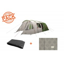 Pack tente + tapis Easy Camp Palmdale 600 Lux