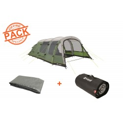 Pack tente + tapis Mallwood 7 Outwell