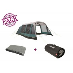 Pack tente + tapis Outwell Parkdale 6PA