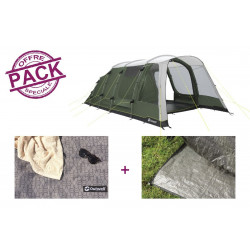 Pack tente + tapis Outwell Greenwood 5