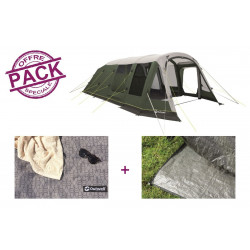 Pack tente + tapis Outwell Knightdale 8PA