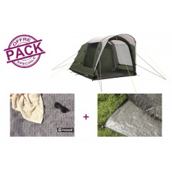 Pack tente + tapis Outwell Lindale 3PA