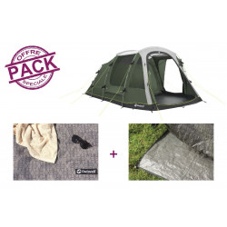 Pack tente + tapis Outwell Springwood 5