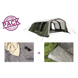 Pack tente + tapis Outwell Sundale 7PA