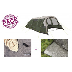 Pack tente + tapis Outwell Winwood 8