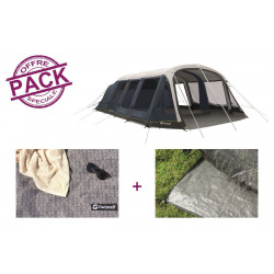 Pack tente + tapis Outwell Wood Lake 7ATC