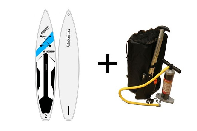 Pack WSK SUP 14 Race Comp Bleu